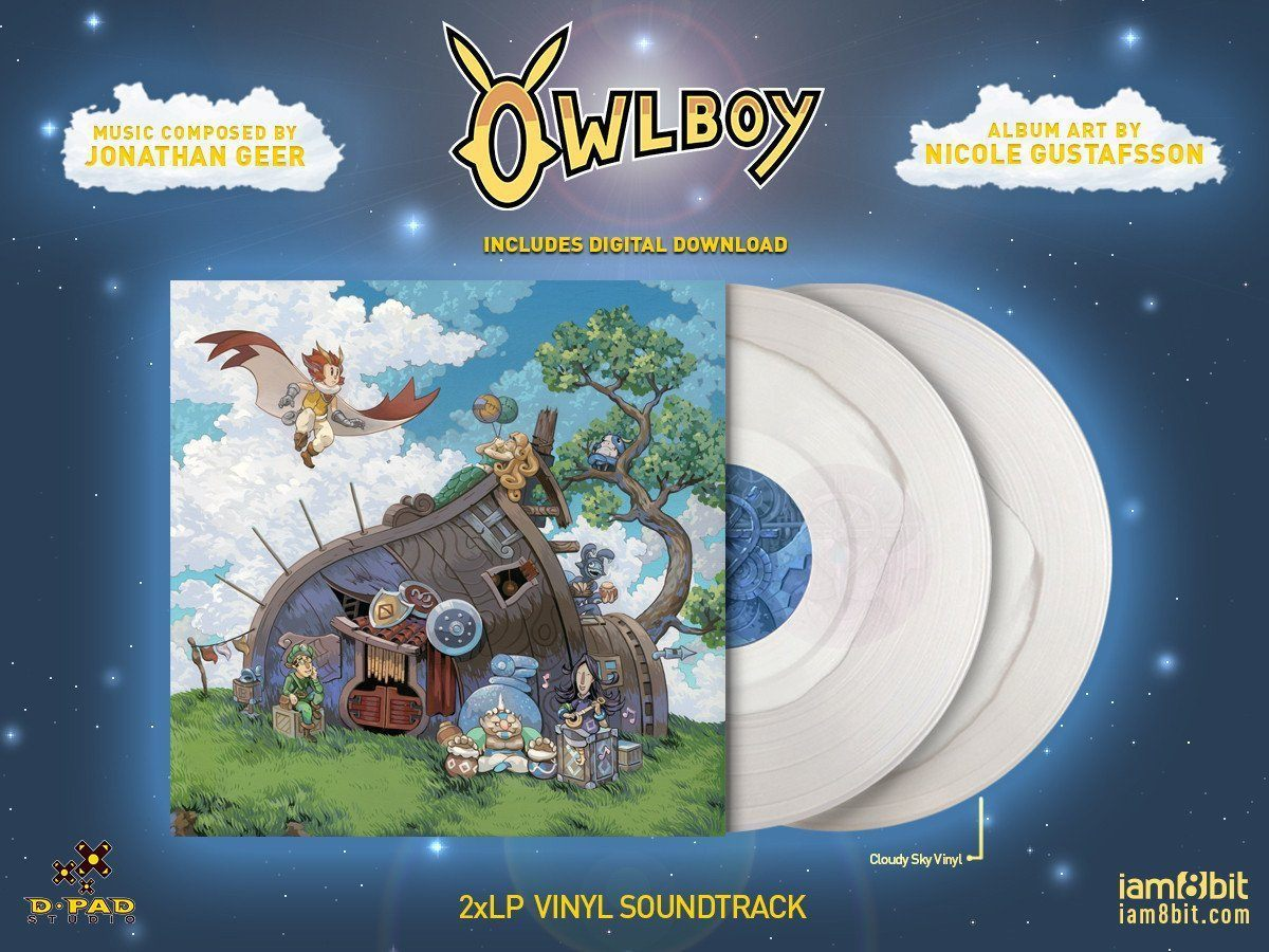 【オウルボーイ】Owlboy Vinyl Soundtrack 2xLP - 画像2