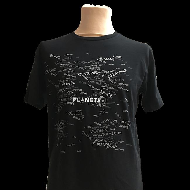 """【年末セール限定商品】""""Planets"""" オリジナルTシャツ(送料無料) - 画像1"""