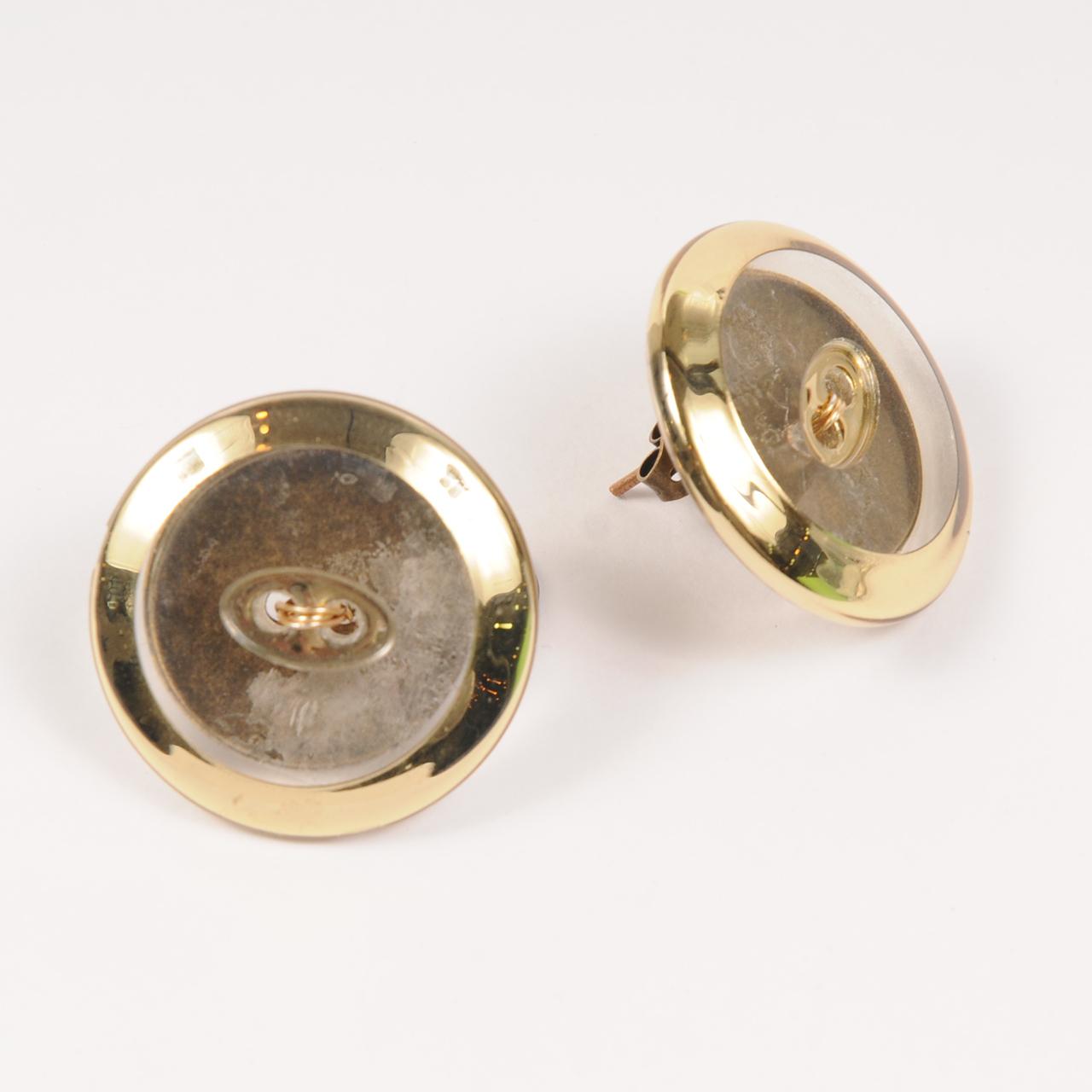 df20SS-J01 VINTAGE BOTTON PIERCE - gold