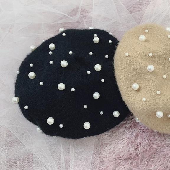 パールベレー帽
