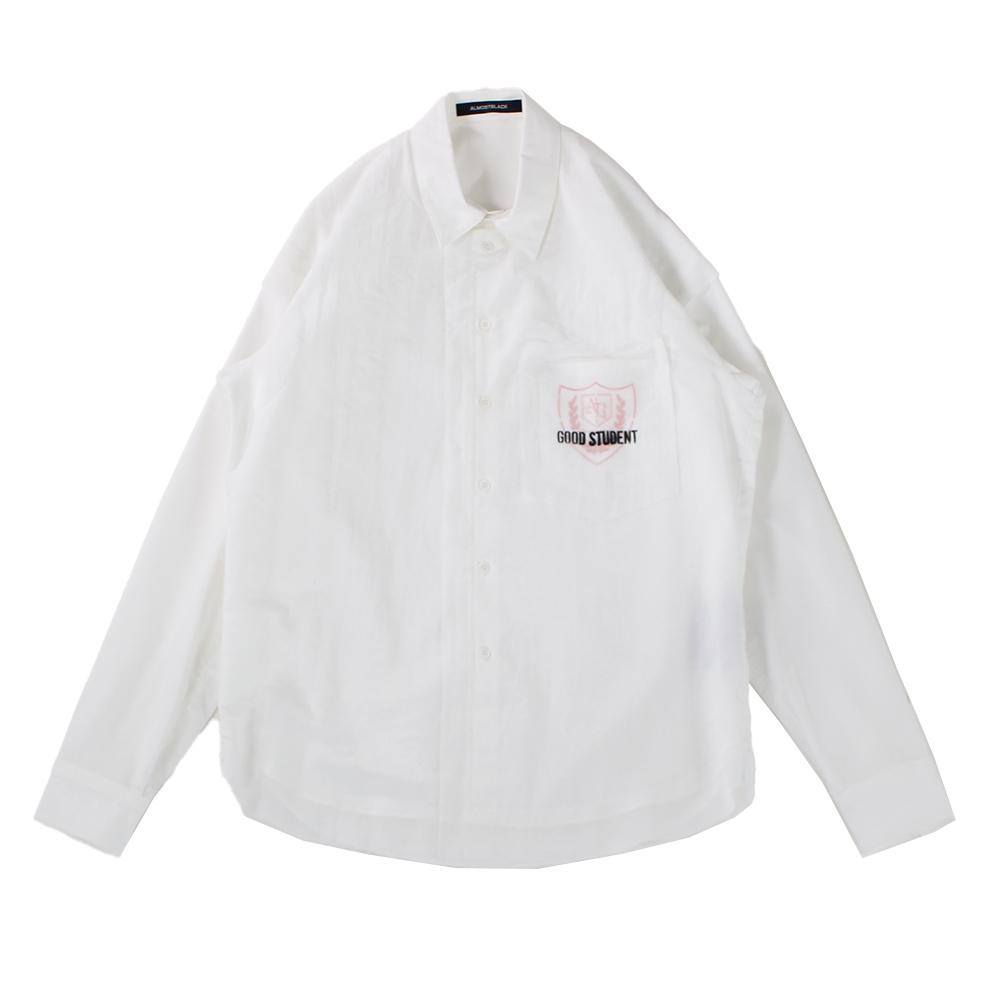 ALMOSTBLACK College Shirt