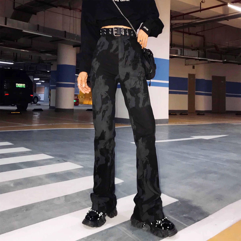 black paint pants