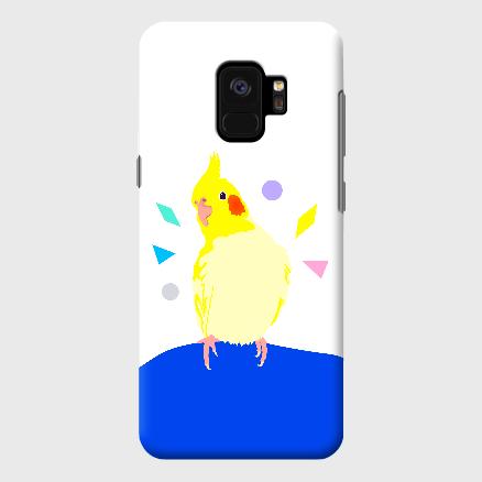 Galaxy S9+ ことりちゃん オカメインコ ケース
