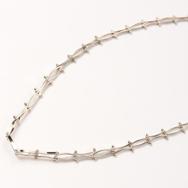 df17WT-J09 CHAIN CHOKER (silver)