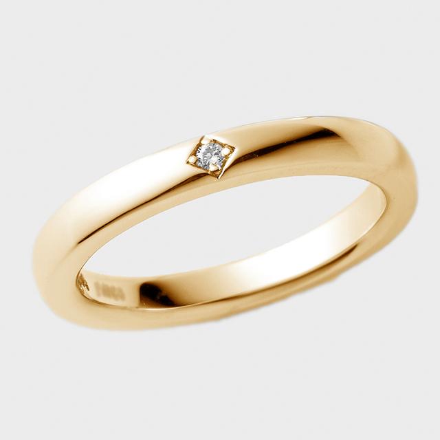 PORTADA BABY RING LYS(LADY'S MODEL)K18YG(ポルターダベビーリング リュース レディースモデル K18イエローゴールド ダイヤモンド)