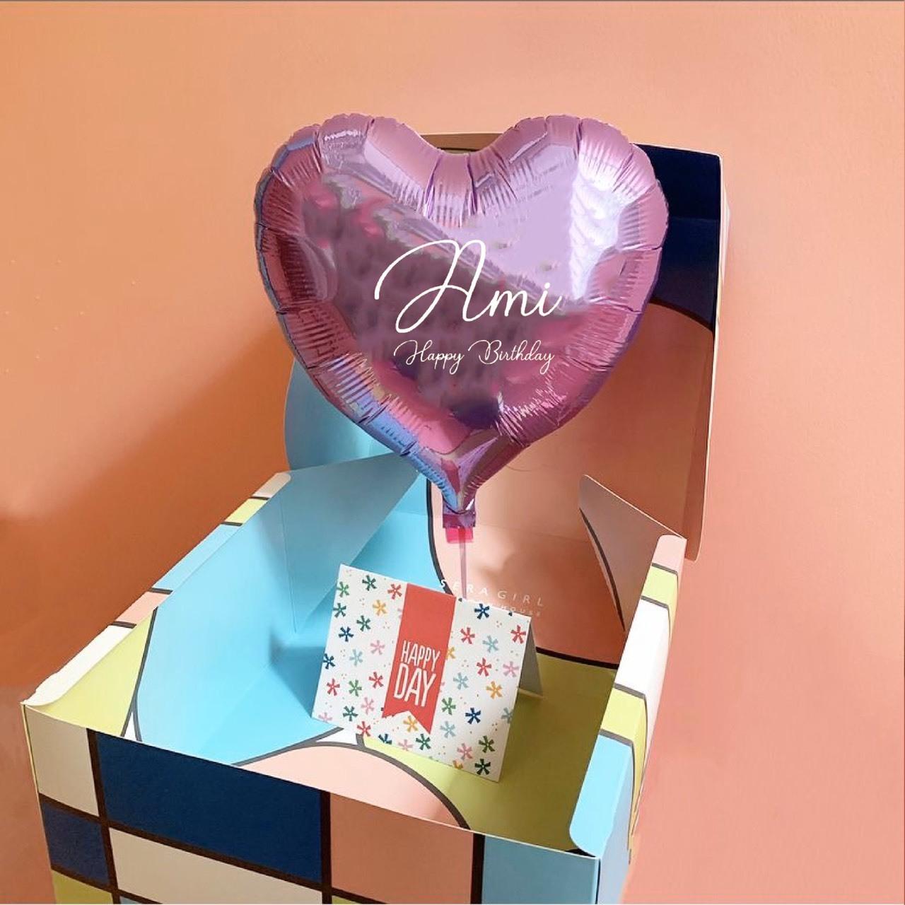 【送料無料】SURPRISE  CAKE BOX