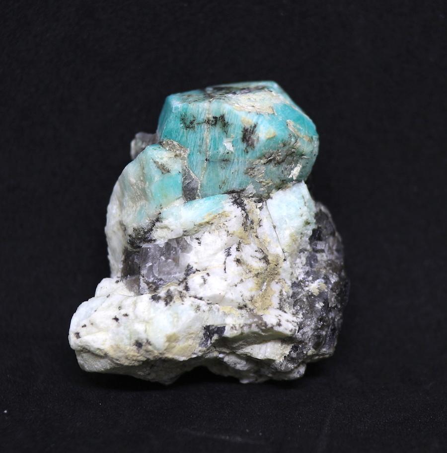希少レアなカリフォルニア産!アマゾナイト原石 40,2g AZ003