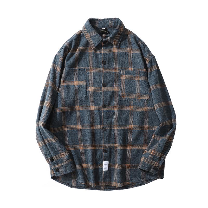 【UNISEX】アウトドア フランネルシャツ