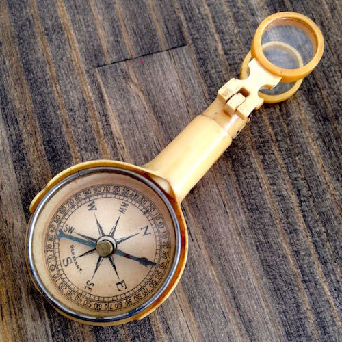 WWII Compass-Mirror-Lens Kit