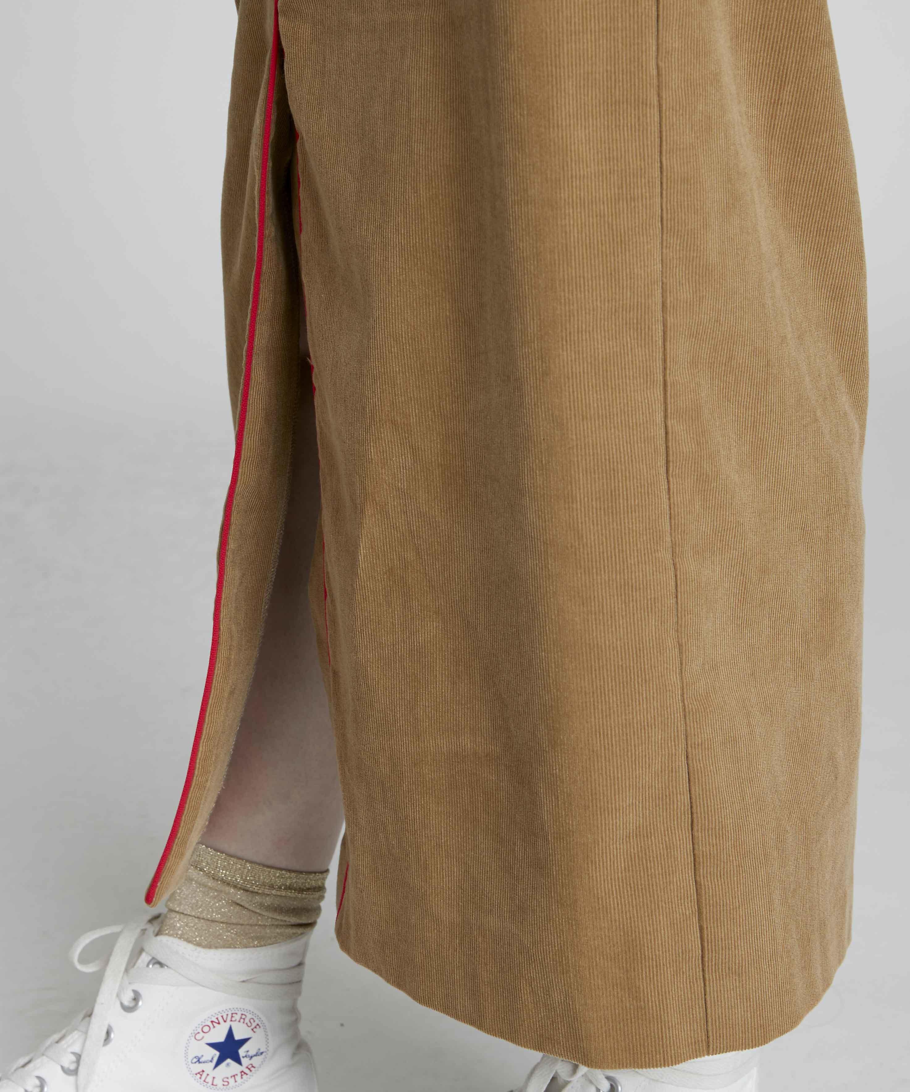 15326f2c229c4e サマーコールハイウエストタイトスカート(ベージュ) | NOISE MAKER ...
