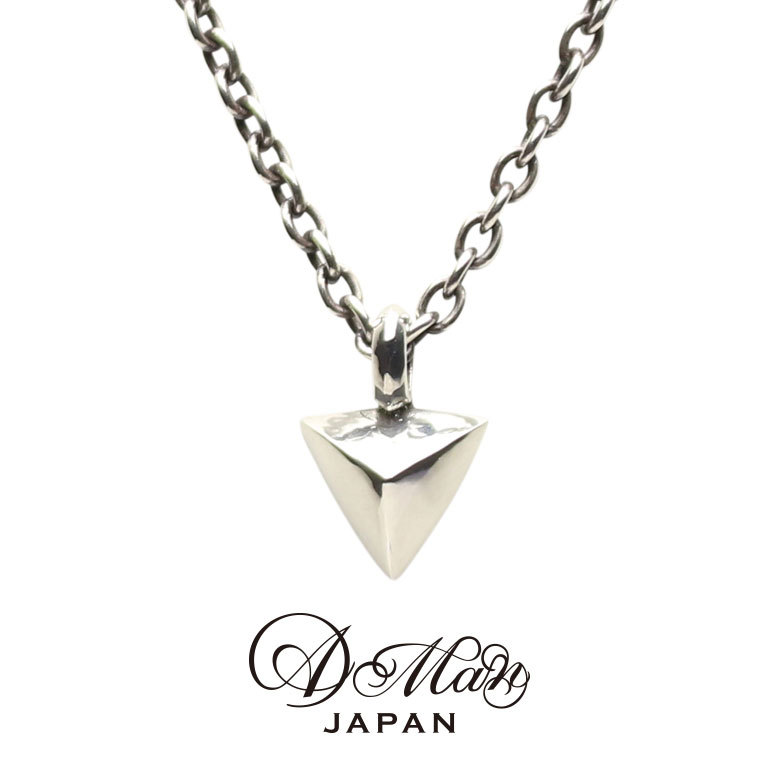 A Man Triangle Studs Necklace エーエムエーエヌ トライアングルスタッズネックレス