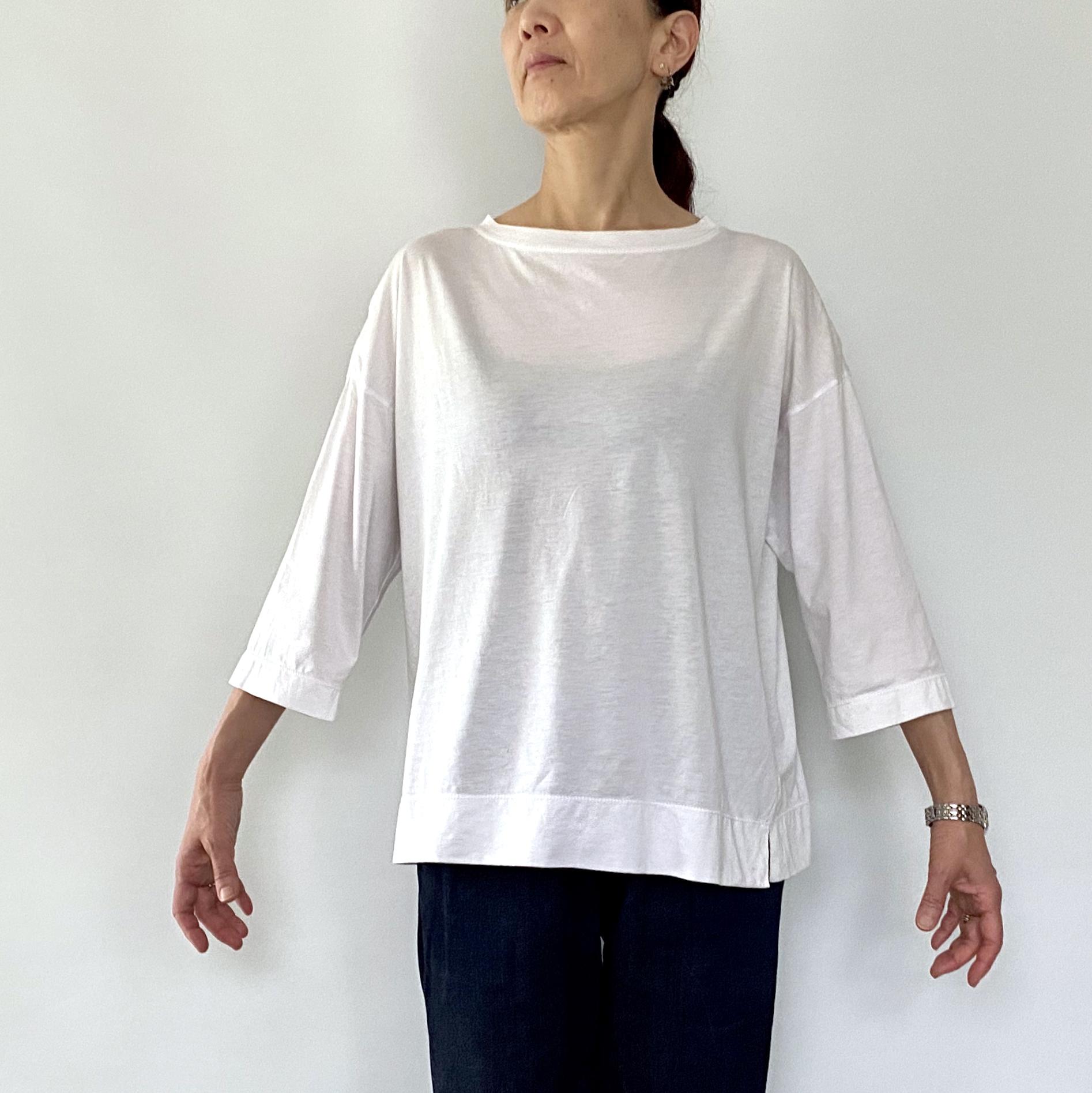 七分袖Tシャツ U03