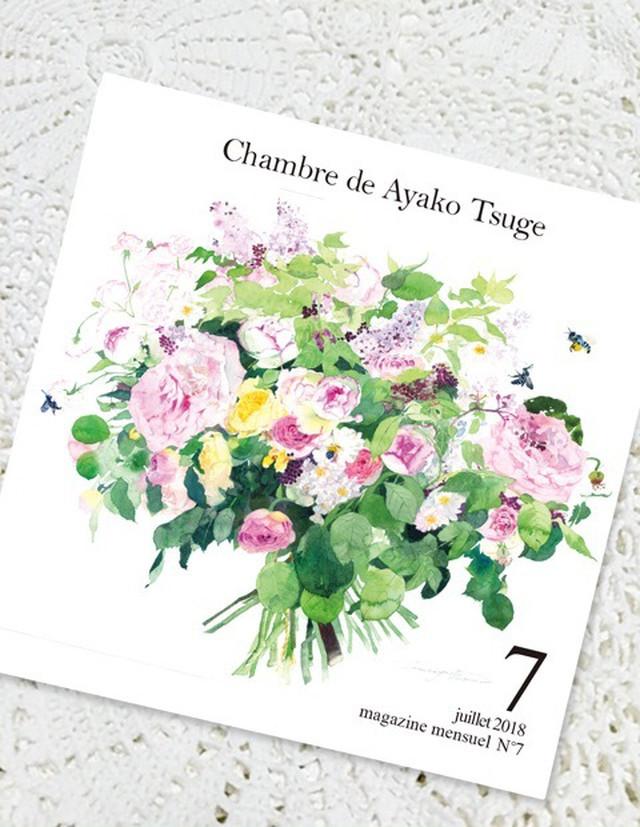 【受注生産】バックナンバー Chambre de Ayako Tsuge2018年7月号