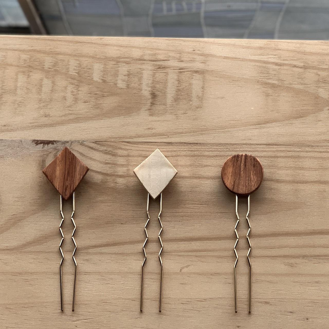wood Hair Stick|ウッドヘアスティック|#SP0202【STELLAPARK】