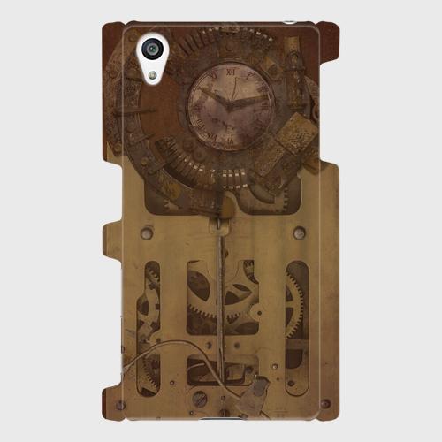 古時計スチームパンク(gear) / Androidスマホケース(ハードケース)