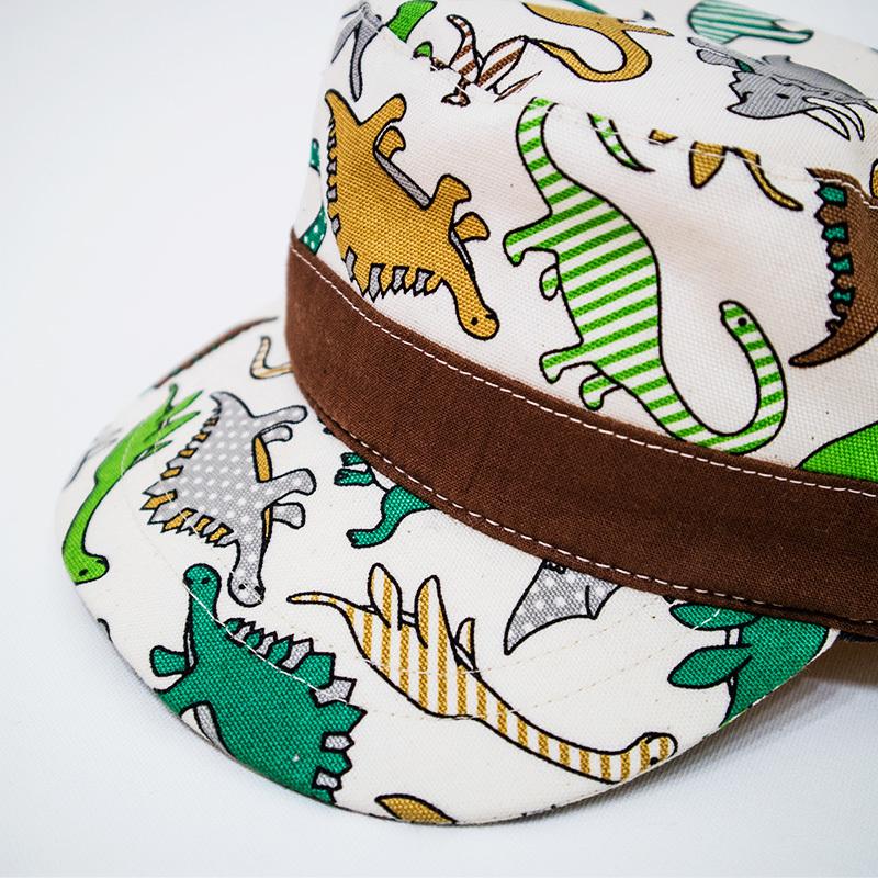 ワークキャップ/恐竜パラダイス