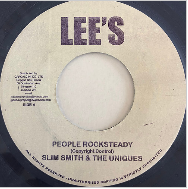 Slim Smith(スリムスミス) - People Rocksteady【7'】