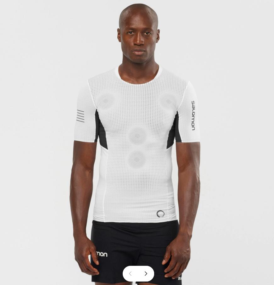 Salomon サロモン S/LAB NSO TEE M WHITE メンズ S/LAB エスラブ NSO Tシャツ ホワイト LC1509900