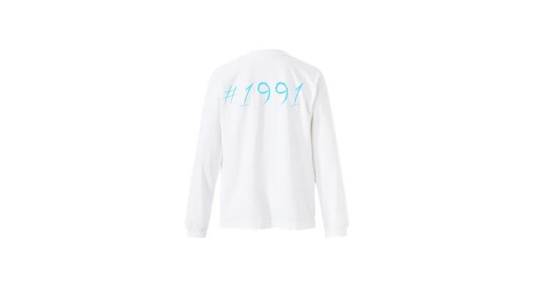 1991 pop long T-shirts (BL)