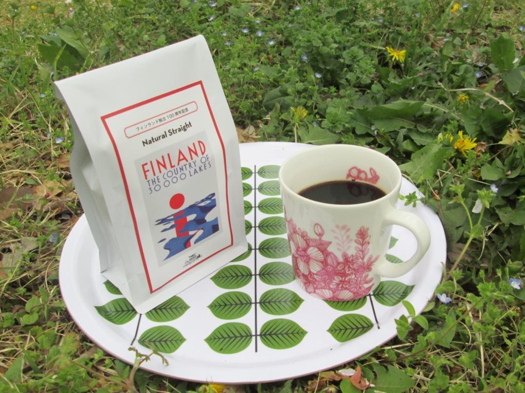 フィンランド100周年記念コーヒー ナチュラルストレート150g(豆)