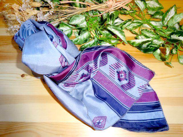 saris-002 シルクサリー スクエアショール