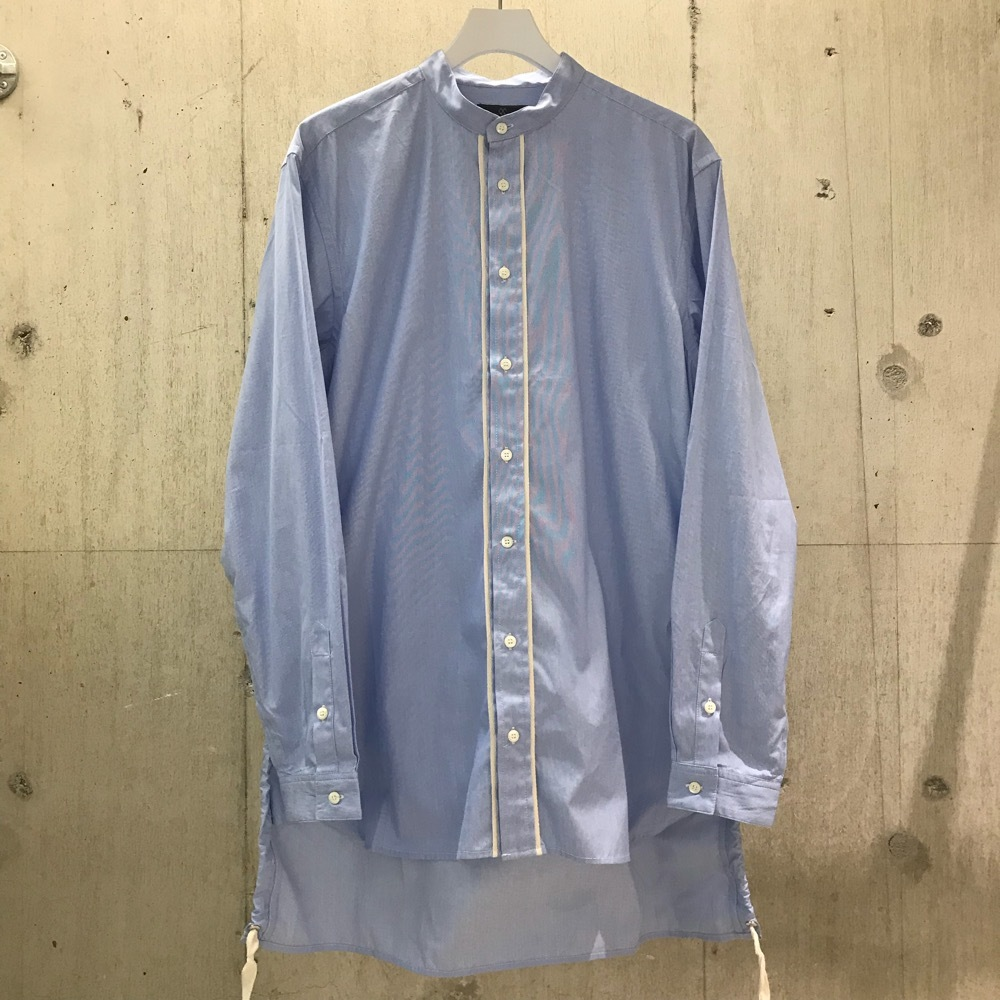 meanswhile Pinstripe Long Shirt
