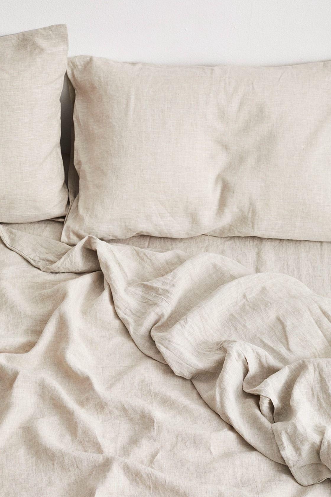 Linen100% Duvet cover set S/SD/D Size ベッドリネンセットS/SD/Dサイズ 布団カバー / 枕カバー2