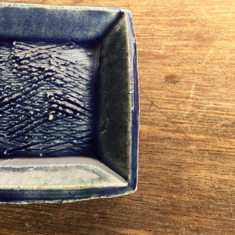 【蓮見かおり】 角豆皿 Φ9㎝×9cm 13 - 画像2
