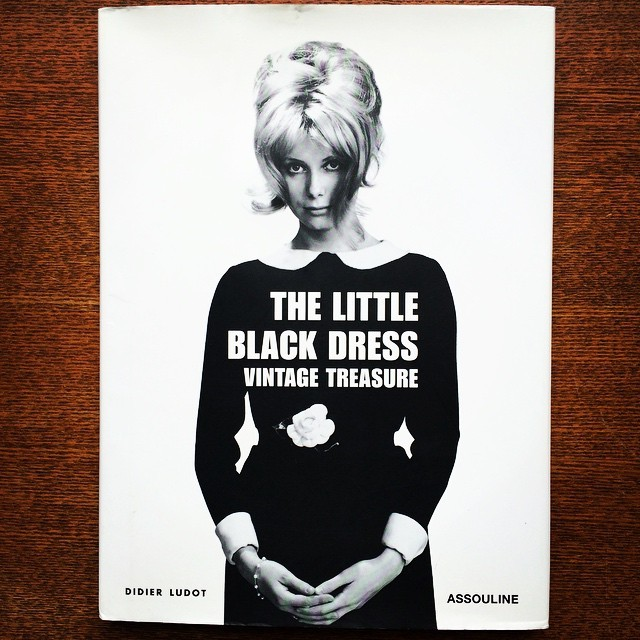 ファッションの本「Little Black Dress: Vintage Treasure」 - 画像1