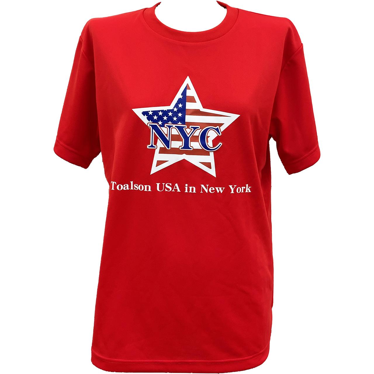 NYCTシャツ(レッド)【1ET1910】
