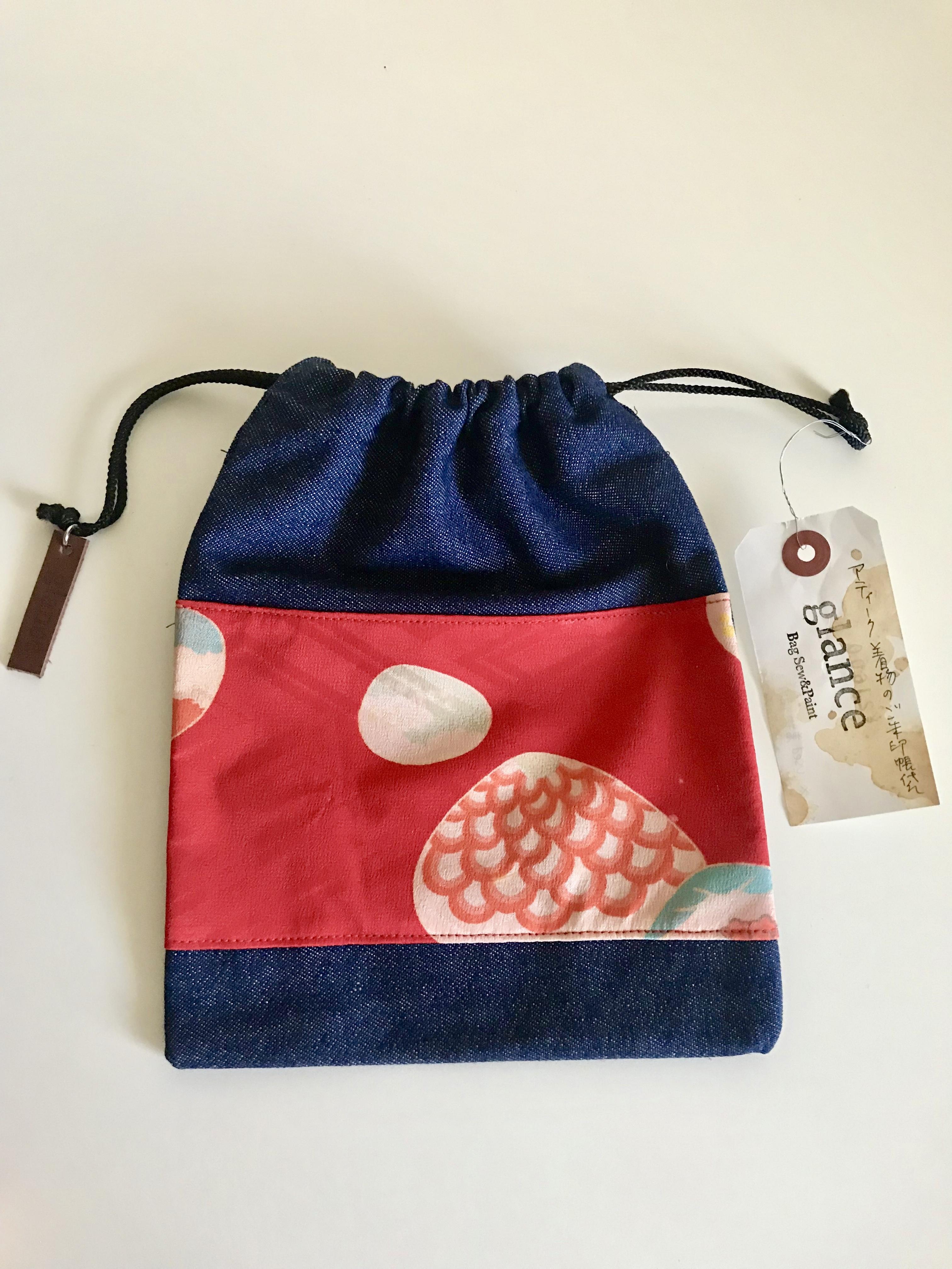 御朱印帳袋(巾着タイプ)−貝殻4
