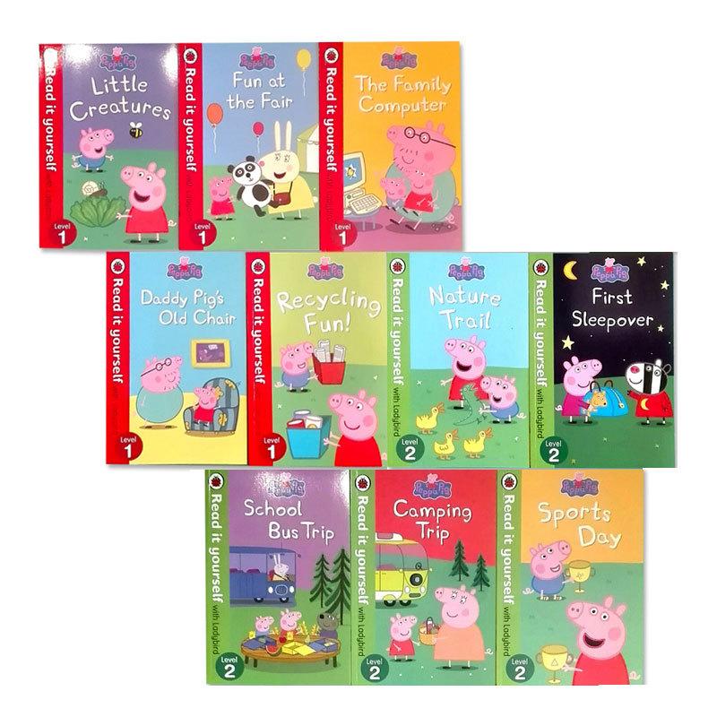 ペッパピッグ(Peppa Pig) 子供が自分で読めるリーダー 10冊セット