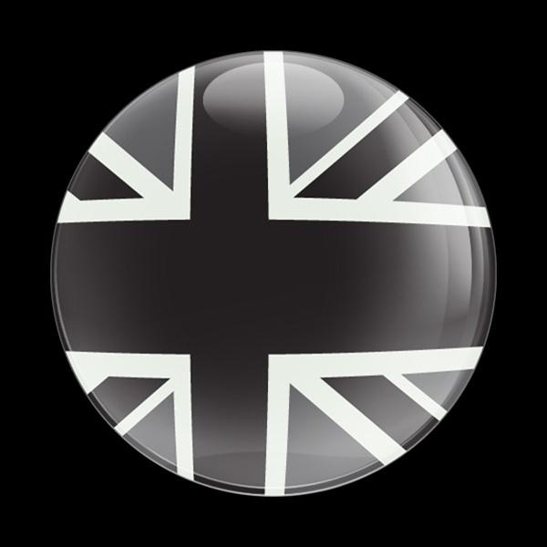 ゴーバッジ(ドーム)(CD0223 - FLAG UK BLACKJACK) - 画像1