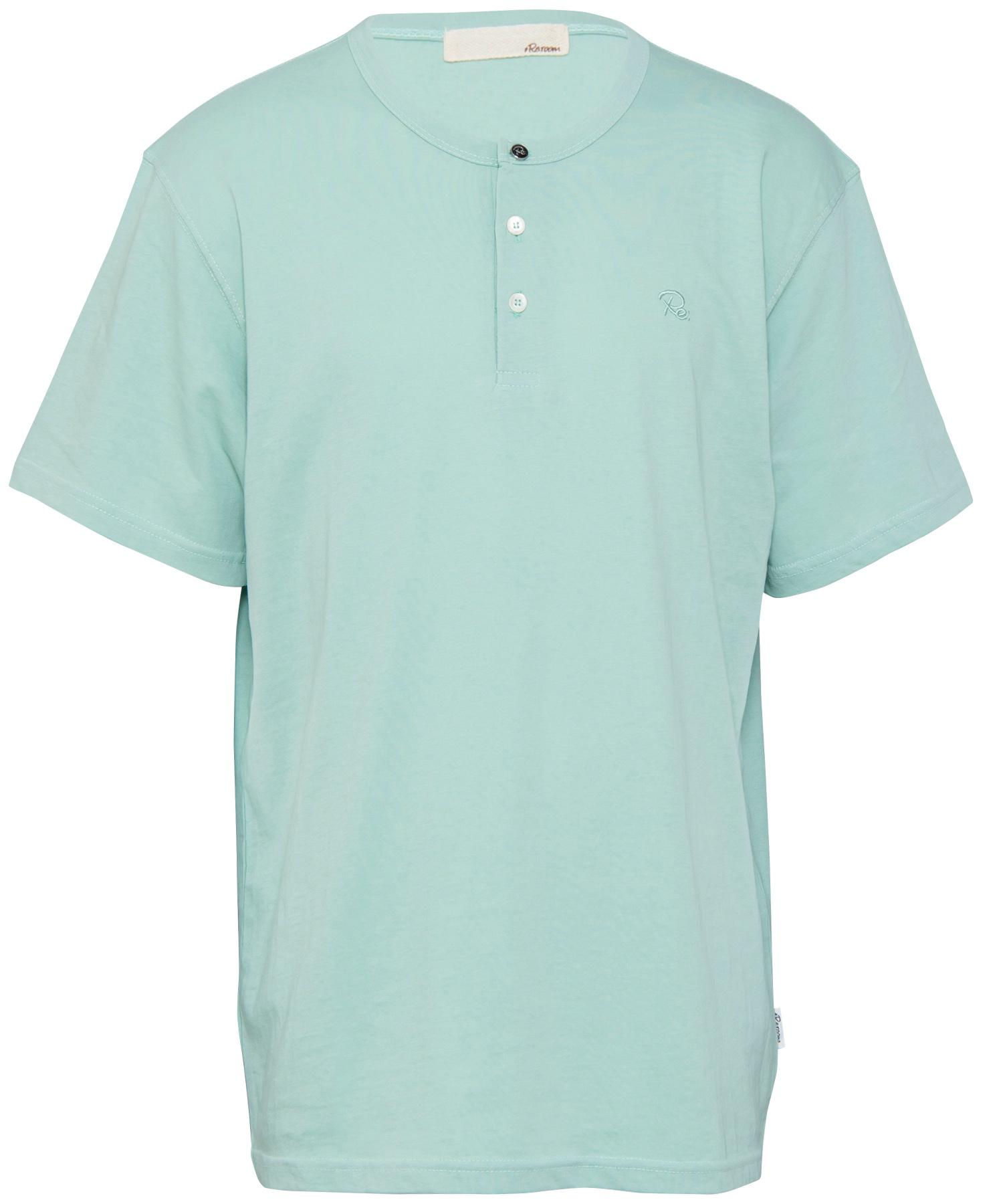 HENLEY NECK BIG T-shirt[REC272]