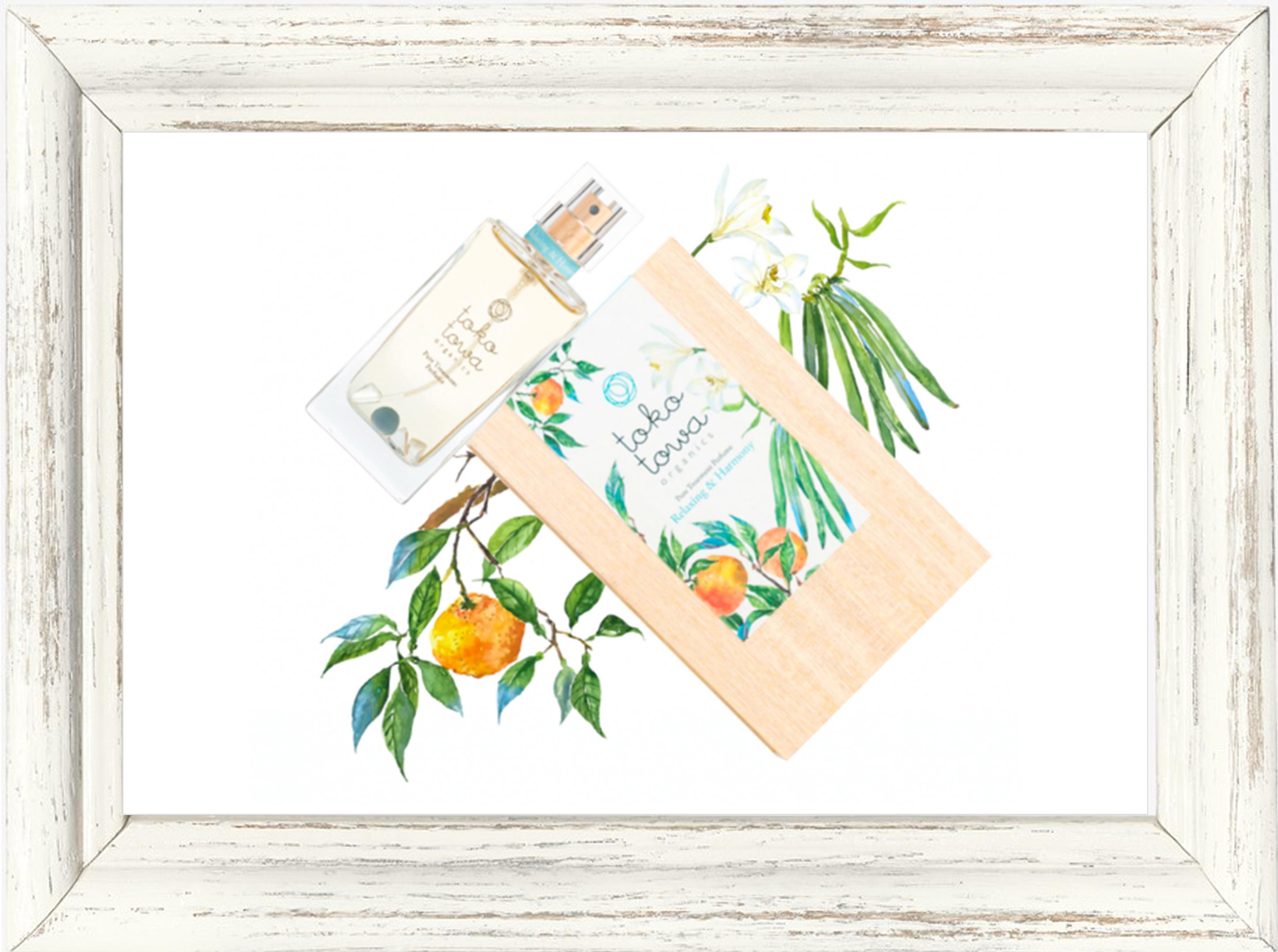 パフューム▶︎tokotowa organics リラクシング&ハーモニー(ブルー) 香水 25ml