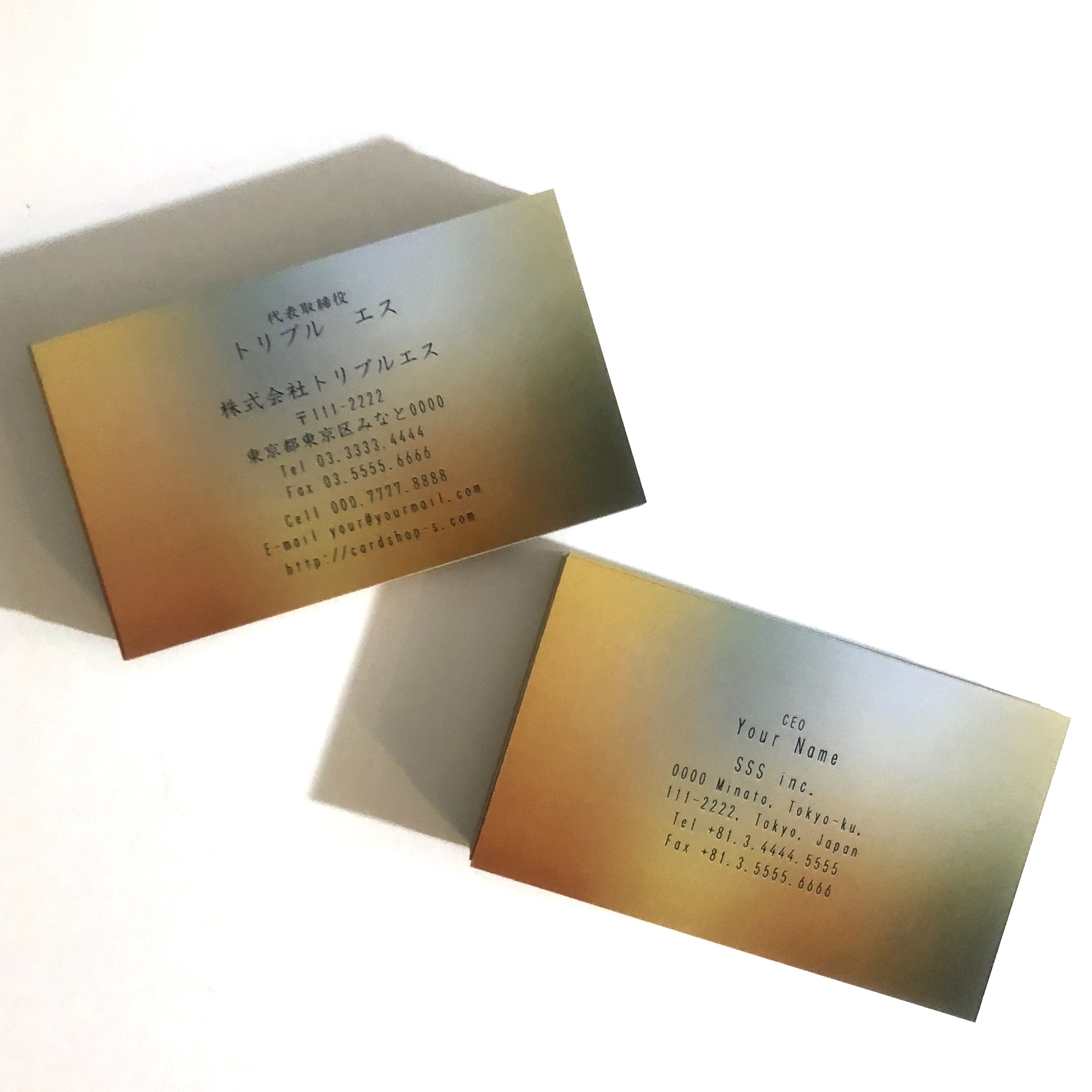 72d1_biz【100枚】ビジネス名刺【英表記】