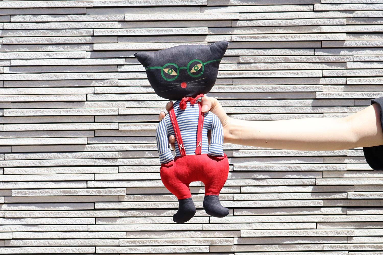 【スウェーデン】猫の人形/1970年代