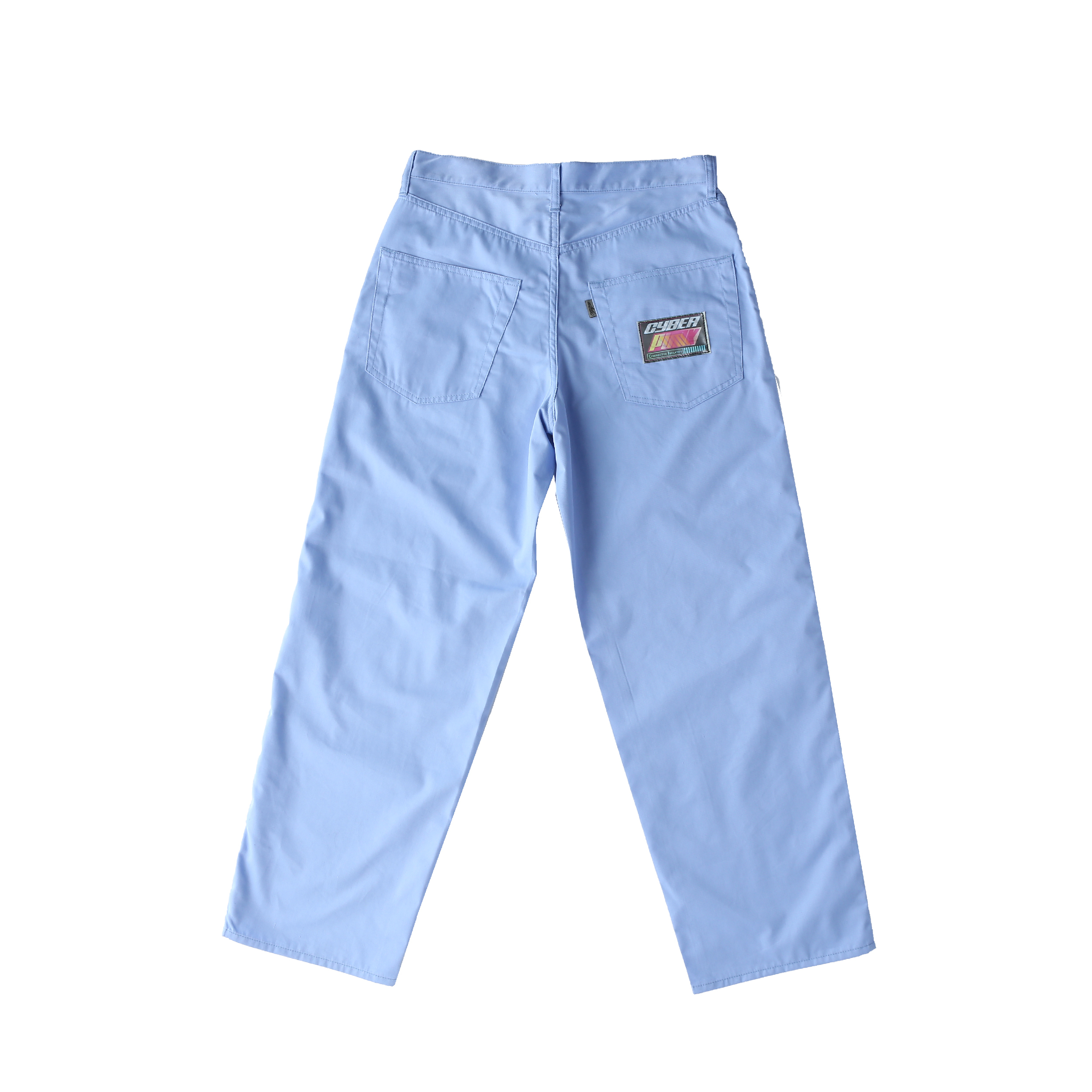 Wappen baggy pants / BLUE - 画像2