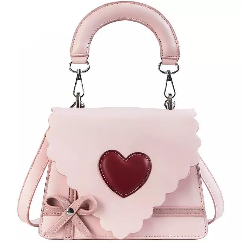 【即納】SWEET HEART  HAND BAG