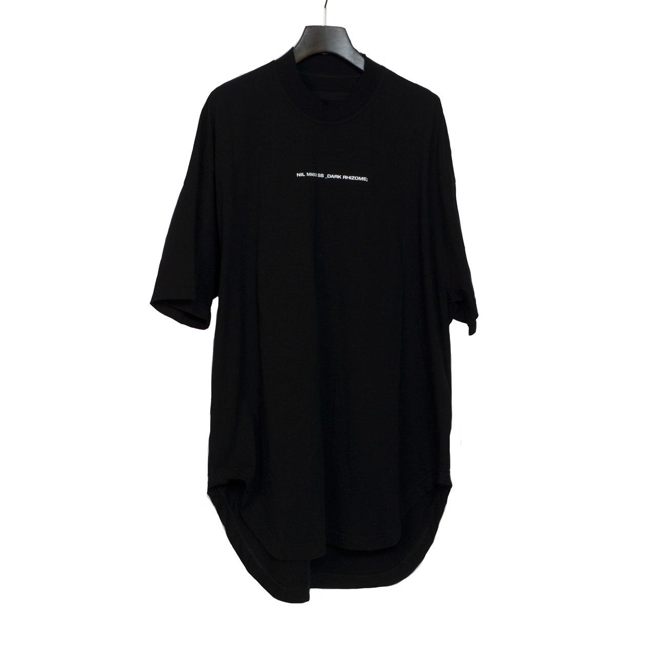 700CPM1-BLACK / J.D. バックプリントラウンド T シャツ