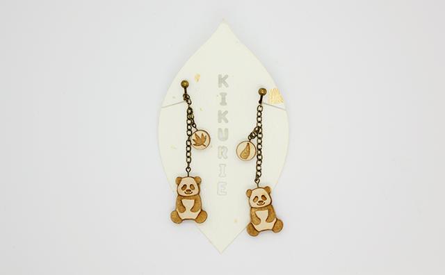 earrings / パンダのピアス&イヤリングのイメージ画像