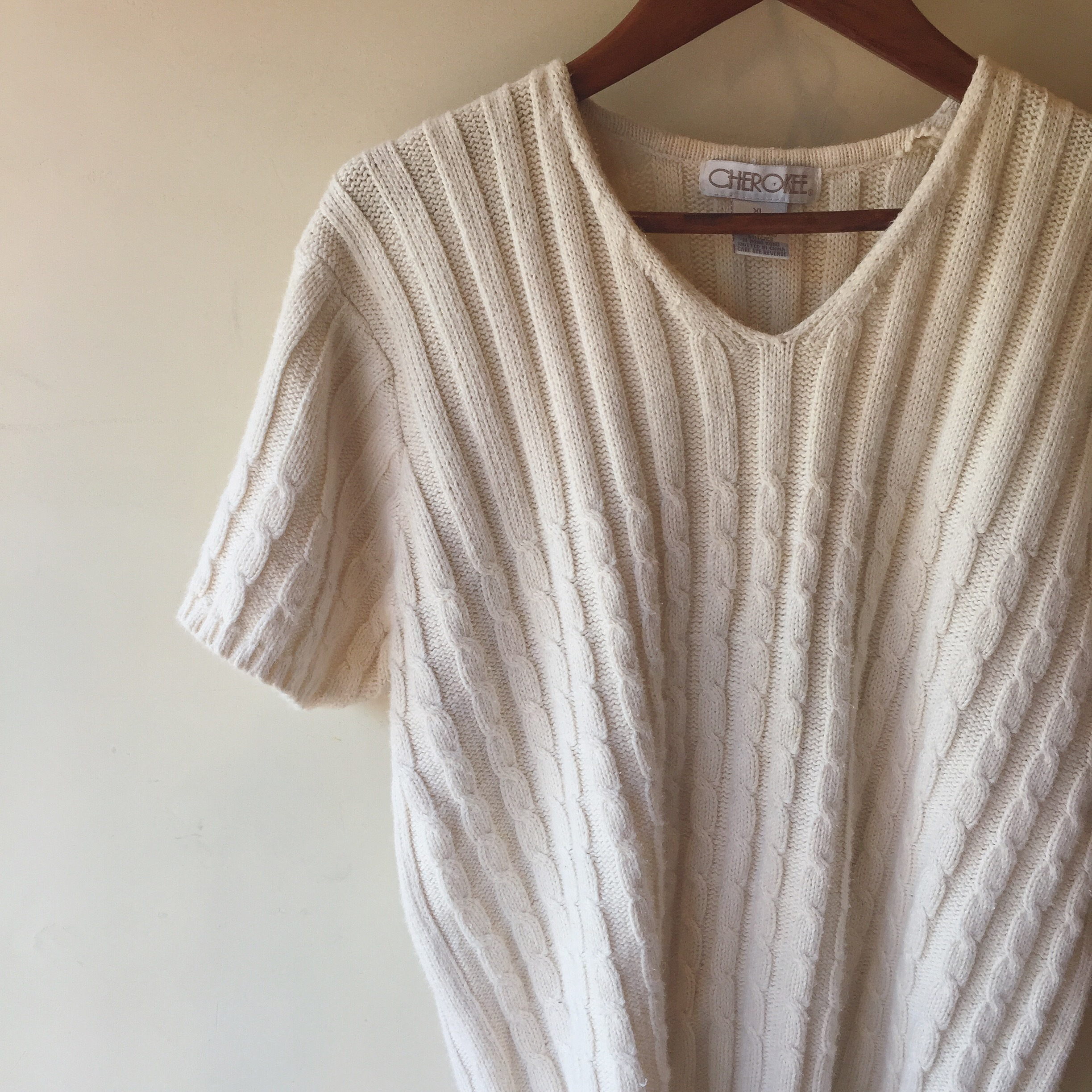 vintage summer knit tops
