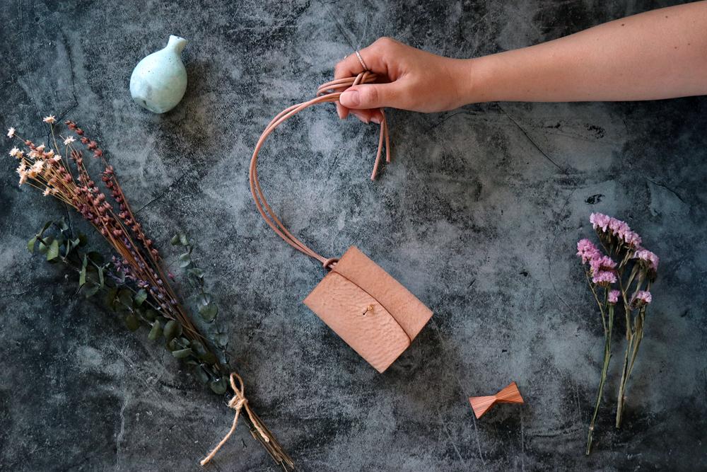 アラスカ_キャメル◆外装◆あかちゃん財布◆三つ折り