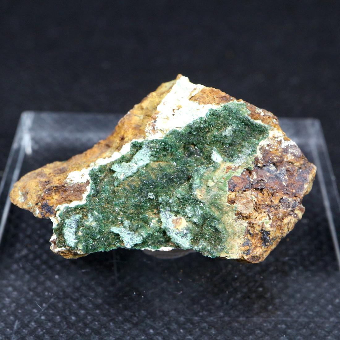 ネバタ州産 燐銅鉱   Libethenite  13,9g LBN003 原石 天然石 鉱物 パワーストーン