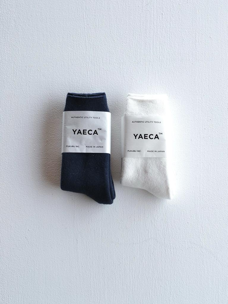 YAECA |コットンパイルソックス