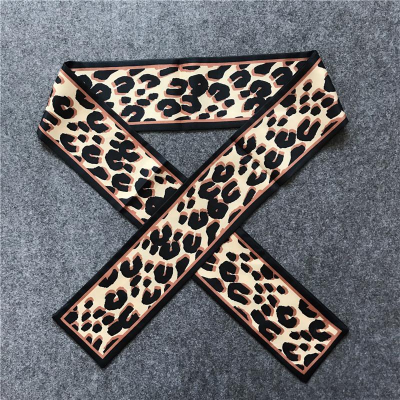 Leopard Silk Scarf