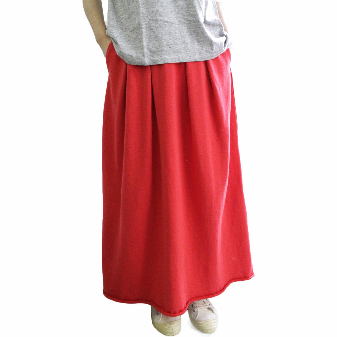 FilMelange フィルメランジェ SHARON シャロン 裏毛ロングスカート