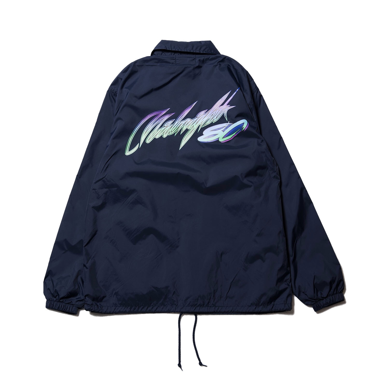 Midnight80 coach jacket / NAVY - 画像2