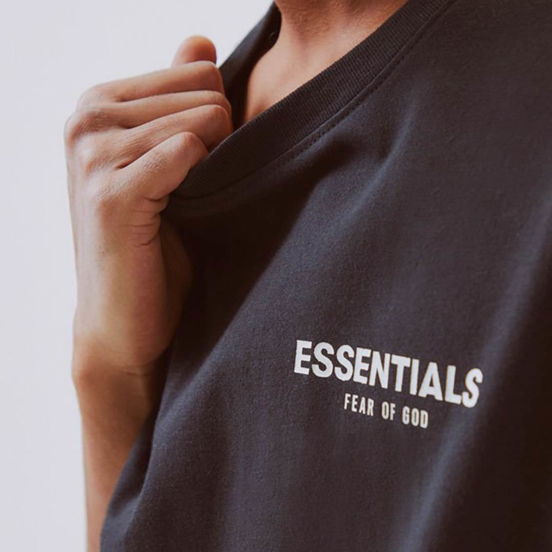 FOG ESSENTIALS / Boxy Photo T-shirt / Black