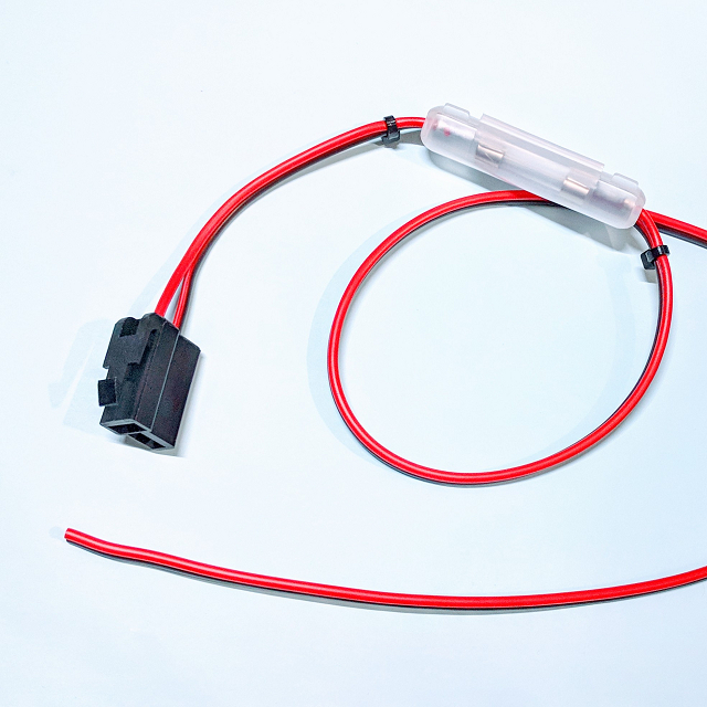 電源ケーブル 250型2極カプラ(片側メス) 0.5sq 3m